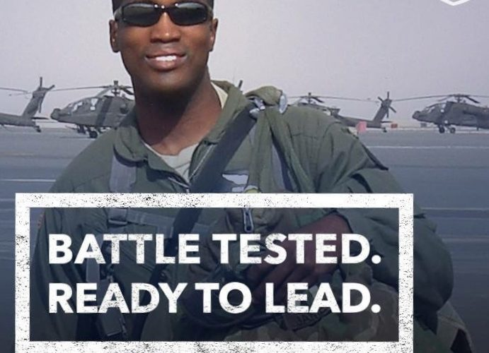 John James Battle tested and ready to lead!