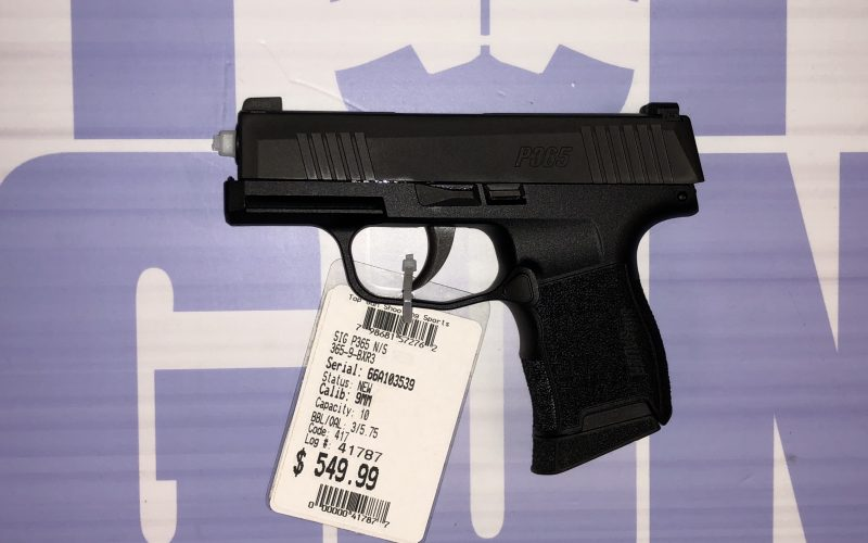 JUST IN!!!!! Sig Sauer P365 with night sights