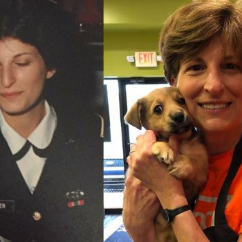 Diane Parker - former Military Police - owner of Biggby Flat Rock