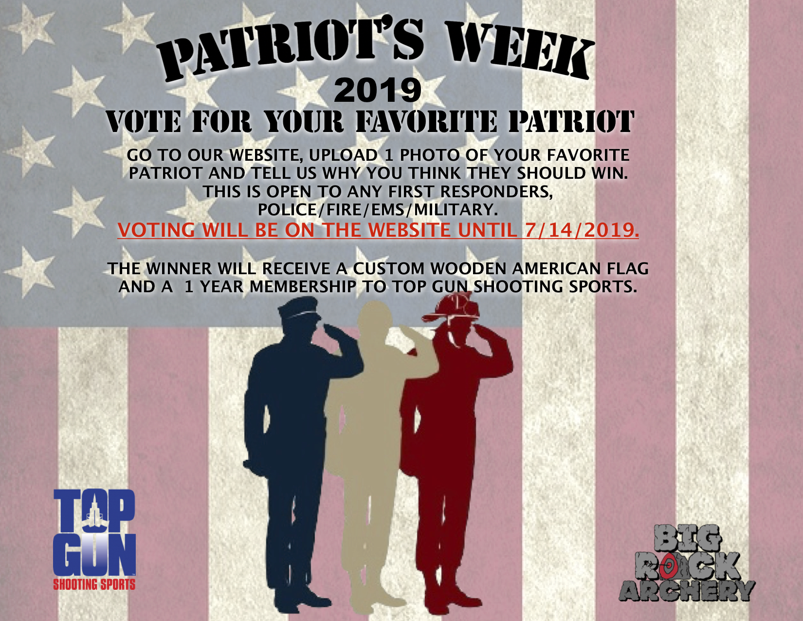 Vote for your Favorite Patriot