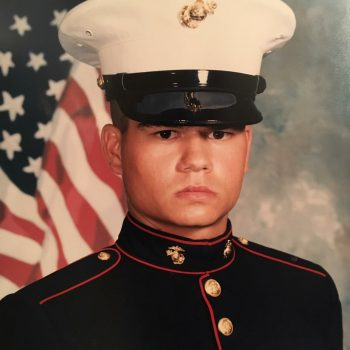 Disabled Marine Gives Back